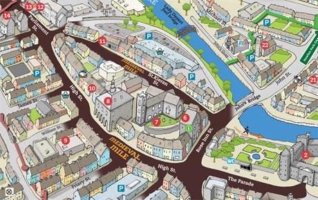 Image result for Kilkenny's Medieval Mile