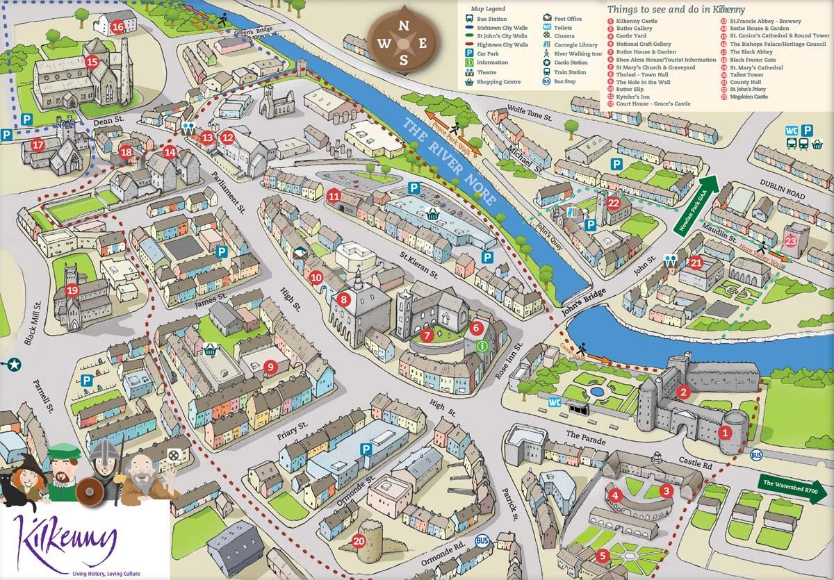 Kilkenny City Maps, Kilkenny County Maps, Walking and Cycle Trails on city neighborhood, city intersection, city of potwin kansas, city street, city of austin etj, topographic map, city restaurants, locator map, city of arcadia fl, fantasy map, city of sandpoint idaho, city of lake village arkansas, city of audubon iowa, street map, city drawing, city of newburgh ny, city of galva il, city of oregon wisconsin, road atlas, city of alexandria louisiana, reversed map, world map, city planning, pictorial maps, city of hamilton michigan, city diagram, city of milan ga, city road, thematic map,