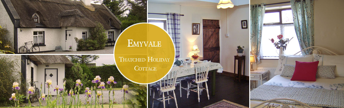 Emyvale Cottage - Thatched Holiday Cottage