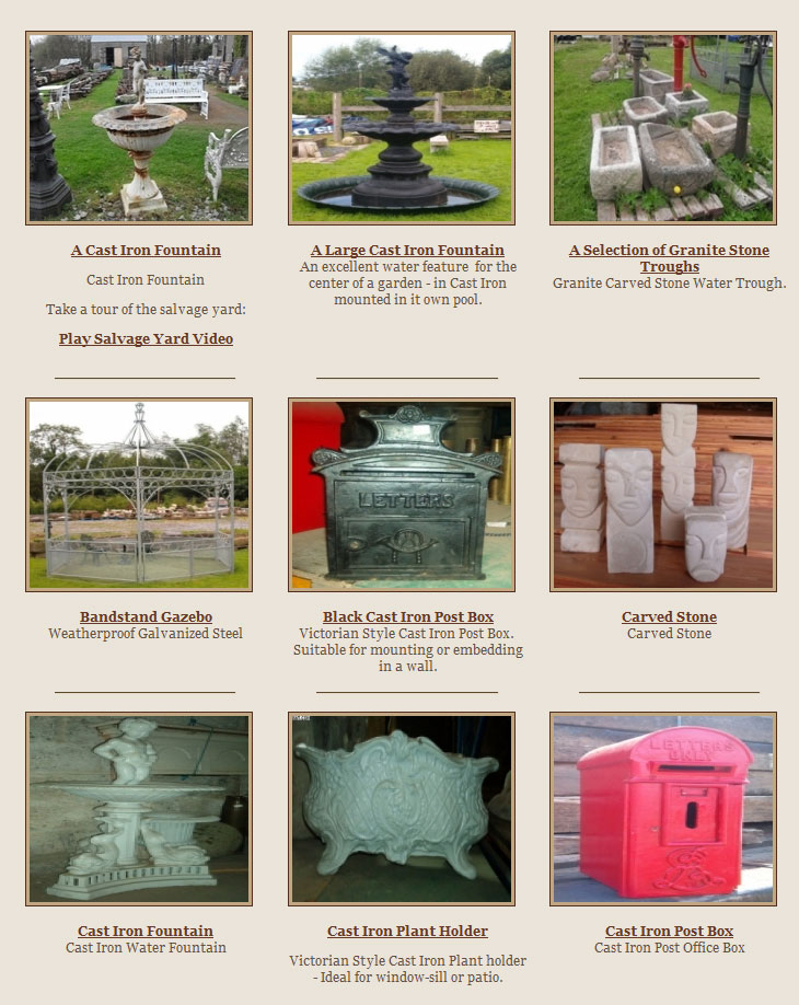 Garden Furniture Kilkenny kilkenny architectural salvage & antiques | antiques kilkenny