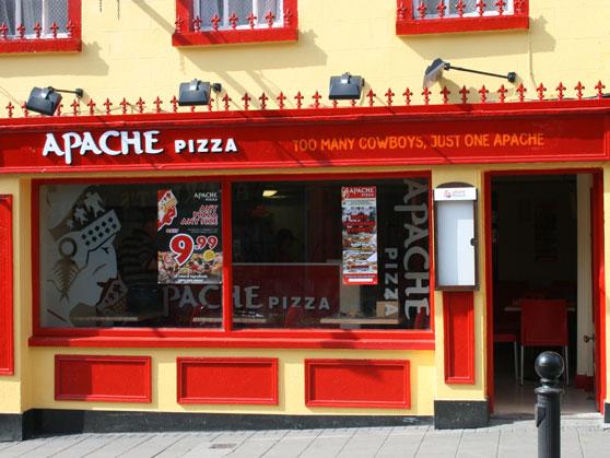 Pizza Delivery In Kilkenny Apache Pizza Kilkenny Pizza