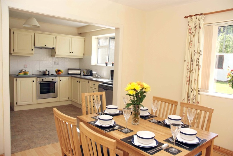 meadow way is a quiet open plan estate near the centre of kilkenny city the holiday home has a fully enclosed back garden with patiogarden furniture
